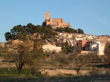 castillo roquedo de Biar