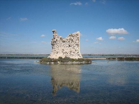 Las Salinas de Santa Pola, Torre Tamarit
