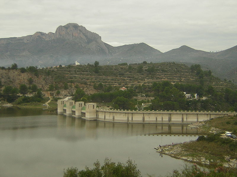 Embalse de Beniarrés