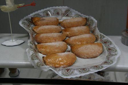 Pasteles de Boniato, tipico Marina Alta
