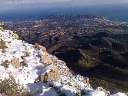 Parque natural Serra Gelada o Sierra Helada
