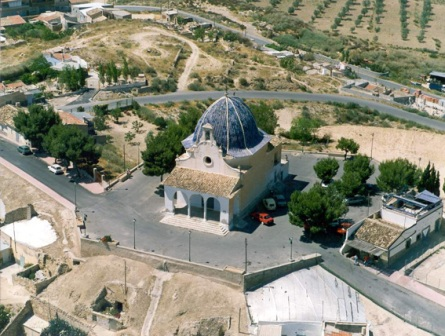Ermita de Santa Barbara en Monovar