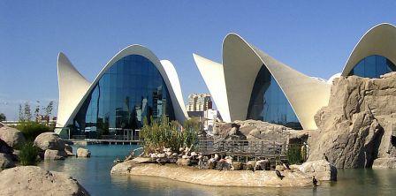 El Oceanogràfic es el mayor acuario de Europa,
