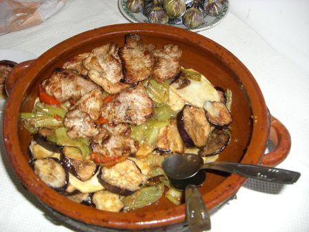 plato tipico de la comarca del Alcalaten