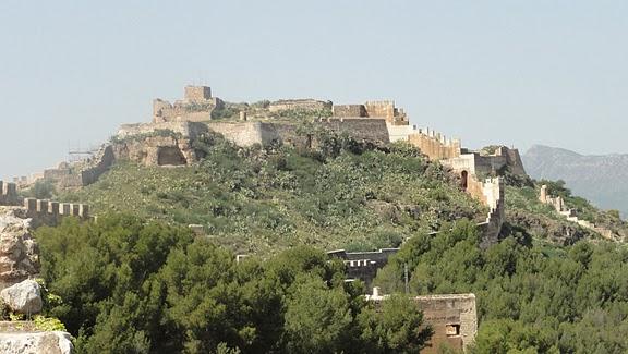 murallas del castillo romano de Sagunto