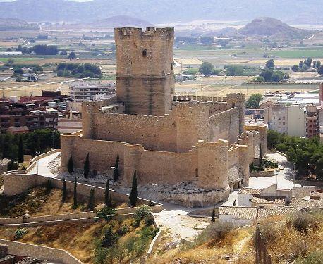 visita  al castillo de villena