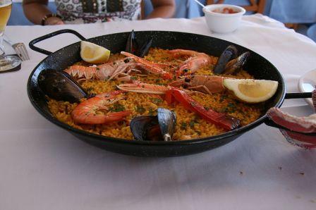 Paella marinera en Cullera