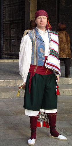 el xaragüell es el traje típico de l'horta valenciana