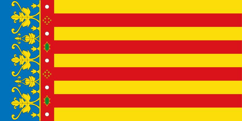 Bandera de la Comunitat Valenciana