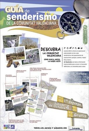 guia senderismo comunidad valenciana
