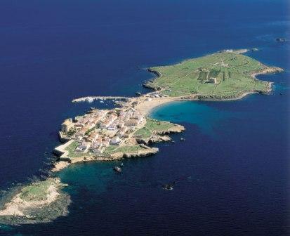 La isla de Tabarca de Alicante