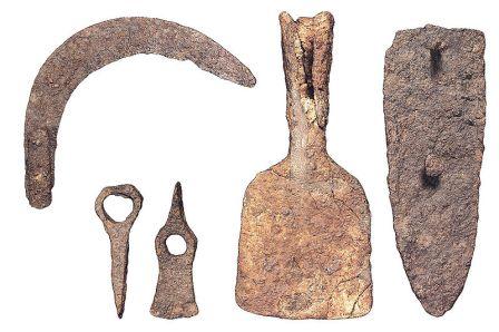 Poblado Ibero La Bastida, herramientas