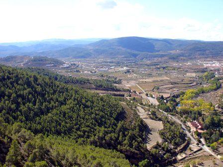 Naturaleza en Los Serranos-Els Serrans