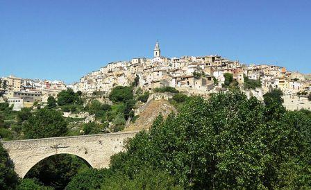 Panoramica del pueblo de Bocairent